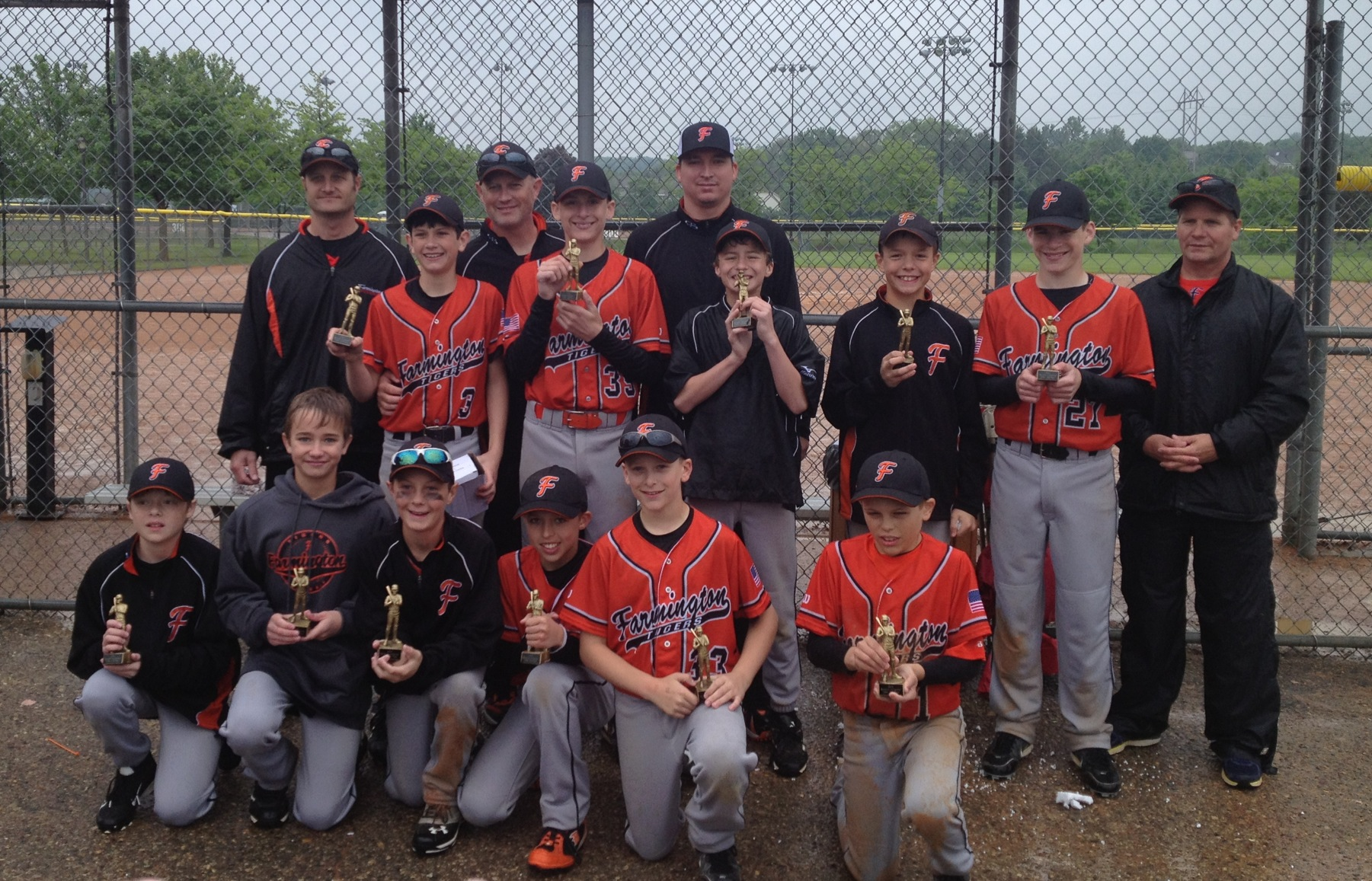 Ethan's 12AA team qualified for 3 state tournaments! Love the faces:)