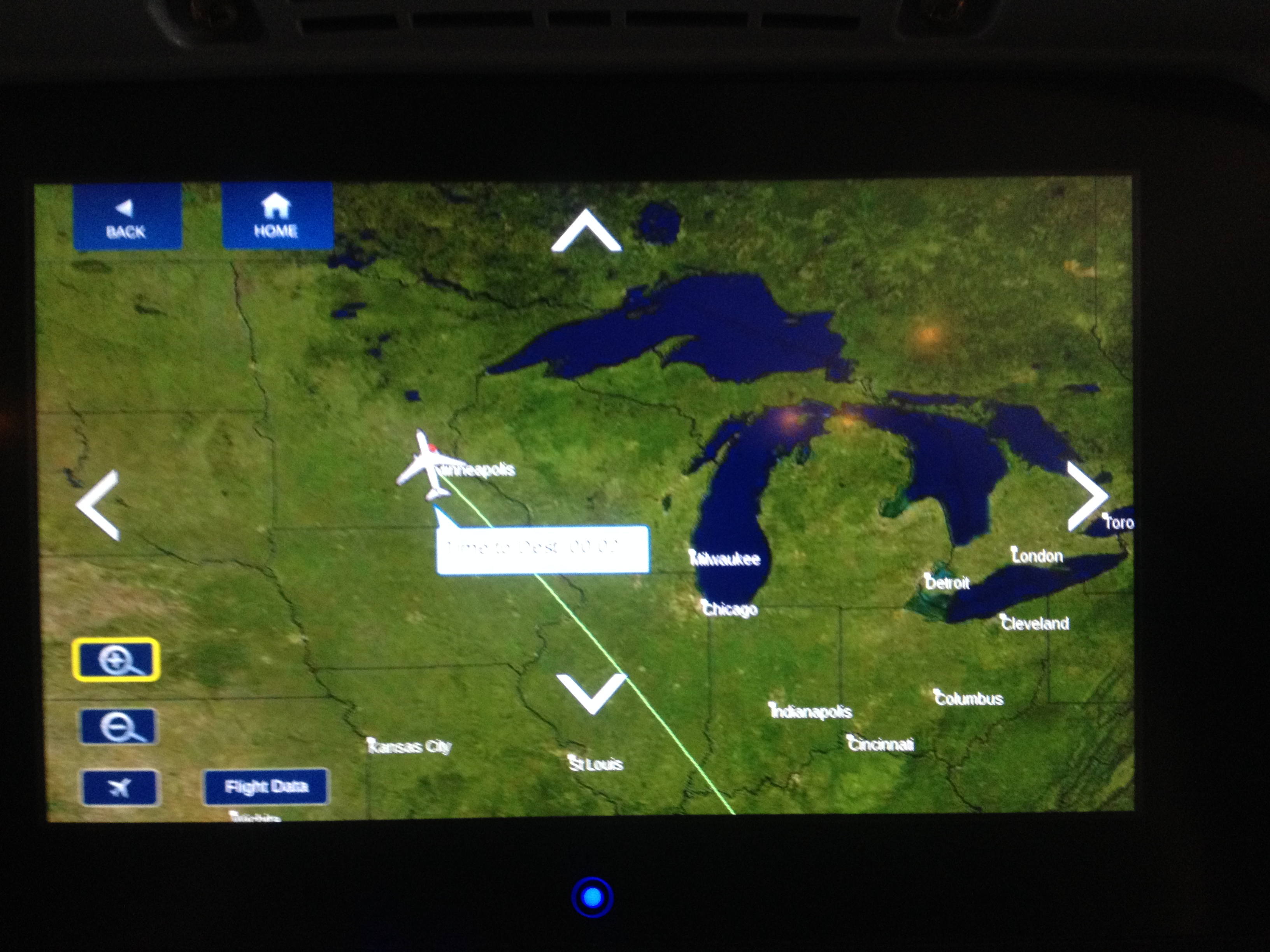 delta flight tracker channel